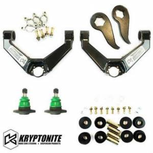 Steering And Suspension - Kits - Kryptonite - KRYPTONITE STAGE 2 LEVELING KIT 2011-2019 Chevy Silverado/GMC Sierra 2500 HD/3500 HD