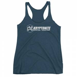 Gear & Apparel - Shirts - Kryptonite - KRYPTONITE LOGO WOMENS TANK TOP