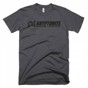 Gear & Apparel - Kryptonite - KRYPTONITE BLACK LOGO SHIRT