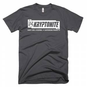 Gear & Apparel - Kryptonite - KRYPTONITE WHITE STAMP SHIRT