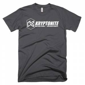 Gear & Apparel - Kryptonite - KRYPTONITE WHITE LOGO SHIRT