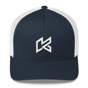 Navy And White Kryptonite %u201CK%u201D Hat