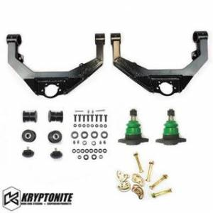 Steering And Suspension - Control Arms - Kryptonite - KRYPTONITE UPPER CONTROL ARMS LB7-LMM 2001-2010 Chevy Silverado/GMC Sierra 2500 HD/3500 HD