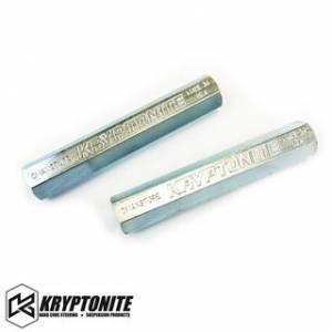 Steering And Suspension - Tie Rods and Parts - Kryptonite - KRYPTONITE Zinc Plated Tie Rod Sleeves 2001-2010 Chevy Silverado/GMC Sierra 2500 HD/3500 HD