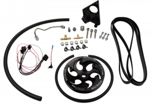 Fuel System & Components - Fuel System Parts - LB7 Duramax Twin CP3 Kit Black Anodized Pulley