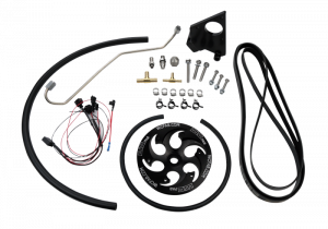 Fuel System & Components - Fuel System Parts - LBZ/LMM Duramax Twin CP3 Kit Black Anodized Pulley