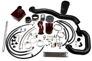 Turbo Chargers & Components - Turbo Charger Kits - S400/Stock Twin Kit for 2013-18 6.7 Cummins