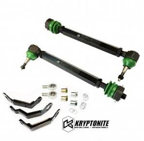Kryptonite -  KRYPTONITE DEATH GRIP TIE RODS with pisk kit 2011+ Chevy Silverado/GMC Sierra 2500 HD/3500 HD