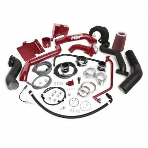 Turbo Chargers & Components - Turbo Charger Kits - HSP Diesel - HSP LML - (13-16) - Over Stock Twin Kit - No HSP Bridge/Cold Side - No Turbo - Factory Battery Location