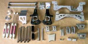 "GI Parts and Bundles - 7"" Premium Lift Kit for 2002-2010 GM 2500 (4WD, Diesel) Part #52050"
