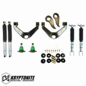 Steering And Suspension - Kryptonite - KRYPTONITE STAGE 3 LEVELING KIT WITH BILSTEIN SHOCKS 2011-2019