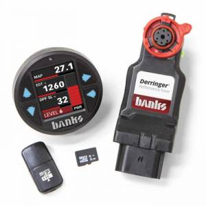 Banks Power - Derringer Tuner w/DataMonster, with ActiveSafety, includes Banks iDash 1.8 DataMonster, for 2017-2019 Chevy/GMC 2500/3500 6.6L Duramax, L5P - Image 1