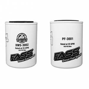 FASS - FASS FUEL REPLACEMENT SET (XL)