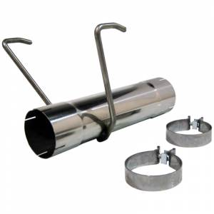 """MBRP Exhaust - MBRP Exhaust 17"""" Muffler Delete Pipe, T304 MDS017"""
