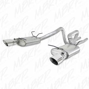 """MBRP Exhaust - MBRP Exhaust 2 1/2"""" Cat Back, Dual Split Rear, AL S7244AL"""