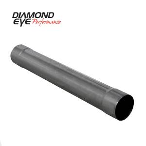 Exhaust - Mufflers - Diamond Eye Performance - Diamond Eye Performance PERFORMANCE DIESEL EXHAUST PART-5in. 409 STAINLESS STEEL PERFORMANCE MUFFLER REP 560220