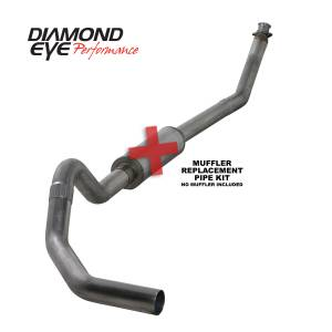 Diamond Eye Performance - Diamond Eye Performance 1994-2002 DODGE 5.9L CUMMINS 2500/3500 (ALL CAB AND BED LENGTHS)-4in. 409 STAINL K4212S-RP - Image 1