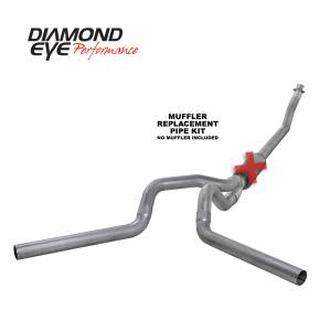 Diamond Eye Performance - Diamond Eye Performance 1994-2002 DODGE 5.9L CUMMINS 2500/3500 (ALL CAB AND BED LENGTHS)-4in. ALUMINIZED K4214A-RP