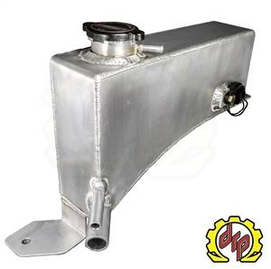 Cooling System - Cooling Tanks and Kits - Deviant Race Parts - Deviant Race Parts LLY/LBZ Fabricated Coolant Tank for Twin Turbo Trucks 74610