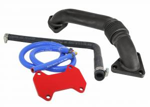 Exhaust - EGR Parts - Deviant Race Parts - Deviant Race Parts Late 2015-16 LML EGR upgrade with Up-Pipe 75125