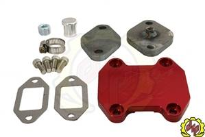 Exhaust - EGR Parts - Deviant Race Parts - Deviant Race Parts 2007-08 Cummins Budget EGR upgrade Kit 87112