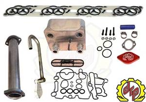 Exhaust - EGR Parts - Deviant Race Parts - Deviant Race Parts 6.0L Powerstroke Stage 2 EGR upgrade Kit 93110