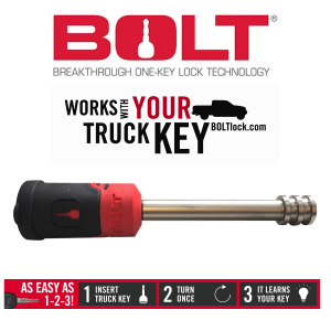 Towing - Locks - Gen-Y Hitch - Gen-Y Hitch Bolt Hitch Lock - BOLTLock Standard2