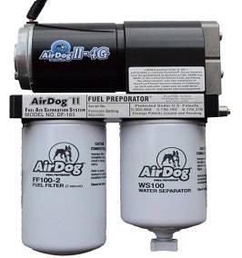 Fuel System & Components - Fuel Pumps & Air Separators - PureFlow AirDog - AirDog II-4G,  DF-165-4G 2015 - 2016 Chevy Duramax