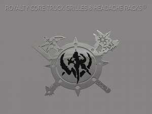 Grilles & Badges - Emblems/Logos - Royalty Core - Royalty Core Battle Shield