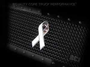 Grilles & Badges - Emblems/Logos - Royalty Core - Royalty Core Cancer Awareness Ribbon