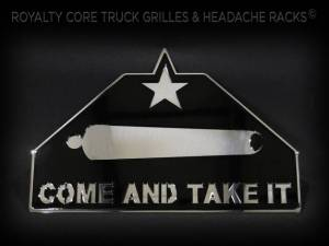 Grilles & Badges - Emblems/Logos - Royalty Core - Royalty Core Come and Take It Emblem