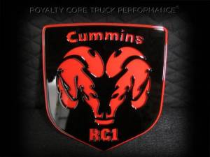Grilles & Badges - Emblems/Logos - Royalty Core - Royalty Core Cummins Fire Ram