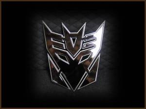 Grilles & Badges - Emblems/Logos - Royalty Core - Royalty Core Decepticon Black