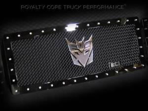 Grilles & Badges - Emblems/Logos - Royalty Core - Royalty Core Decepticon Chrome