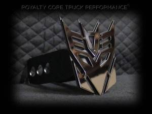 Grilles & Badges - Emblems/Logos - Royalty Core - Royalty Core Decepticon Hitch Cover