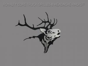 Grilles & Badges - Emblems/Logos - Royalty Core - Royalty Core Elk Skull