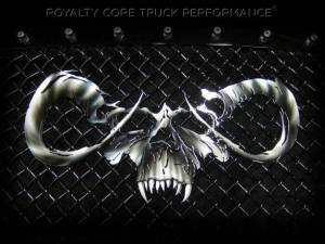Grilles & Badges - Emblems/Logos - Royalty Core - Royalty Core Goat Skull Airbrushed