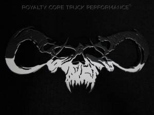 Grilles & Badges - Emblems/Logos - Royalty Core - Royalty Core Goat Skull Chrome