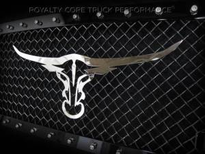 Grilles & Badges - Emblems/Logos - Royalty Core - Royalty Core Longhorn Emblem