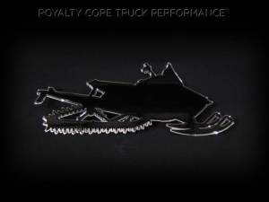 Grilles & Badges - Emblems/Logos - Royalty Core - Royalty Core Snowmobile Sled