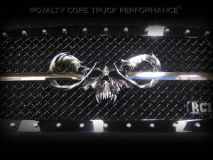 Grilles & Badges - Emblems/Logos - Royalty Core - Royalty Core Speared Goat Skull