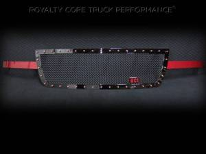 Royalty Core - Royalty Core Chevrolet 1500 2006-2007 RC1 Full Grille Replacement Color Matched Arms
