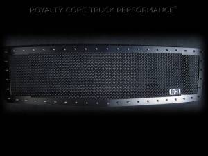 Royalty Core - Royalty Core Chevrolet 1500 2007-2013 RC1 Satin Black Grille Replacement Satin 10.0 Mesh