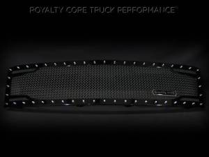 Royalty Core - Royalty Core Chevrolet 1500 2007-2013 Full Grille Replacement RC2 Twin Mesh Grille