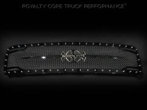 Grilles & Badges - Grilles - Royalty Core - Royalty Core Chevrolet 1500 2007-2013 RC2 Full Grille Replacement with Sword Assembly