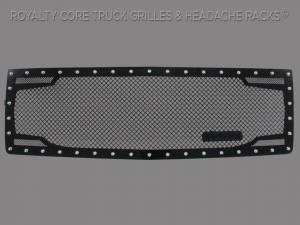 Grilles & Badges - Grilles - Royalty Core - Royalty Core Chevrolet 1500 2014-2015 RC2 Twin Mesh Grille