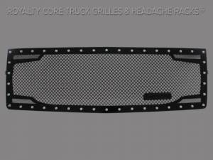 Grilles & Badges - Grilles - Royalty Core - Royalty Core Chevrolet 1500 Z71 2014-2015 RC2 Twin Mesh Grille