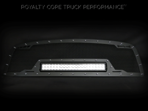 Grilles & Badges - Grilles - Royalty Core - Royalty Core Chevrolet 1500 2003-2005 RCRX Full Grille Replacment LED Race Line