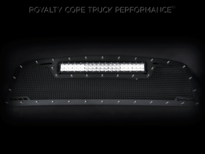 Royalty Core - Royalty Core Chevrolet 1500 2006-2007 RCRX Race Line Full Grille Replacement-Top Mount LED