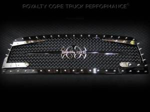 Grilles & Badges - Grilles - Royalty Core - Royalty Core Chevrolet 1500 2007-2013 Full Grille Replacement RC3DX Innovative